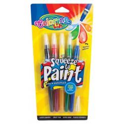 Patio Colorino farbki w pędzelkach Squeeze To Paint 5