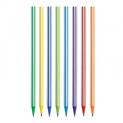 """Bic """"Stripes"""" ołówek grafitowy kolorowy"""