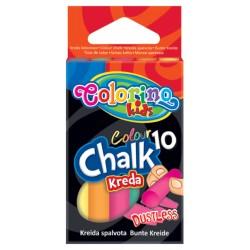 """Patio """"Colorino"""" kreda bezpyłowa kolorowa 10"""