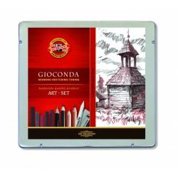 """Koh-I-Noor """"Gioconda Art-Set"""" zestaw artystyczny średni 8899"""