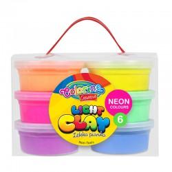 Colorino lekka pianka plastyczna neonowa 6