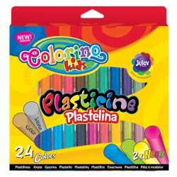 Colorino plastelina 24