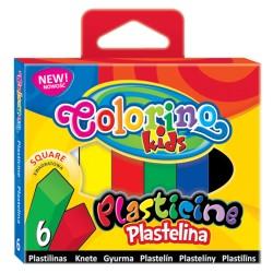 Colorino plastelina kwadratowa 6
