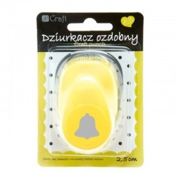 """Dziurkacz ozdobny """"Dzwonek"""" 2,5 cm DP Craft JCDZ-110-092"""