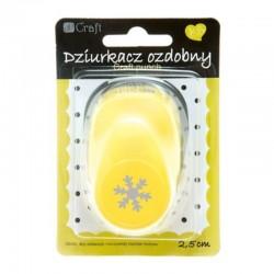 """Dziurkacz ozdobny """"Śnieżynka"""" 2,5 cm DP Craft JCDZ-110-059"""