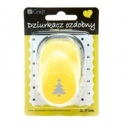 """Dziurkacz ozdobny """"Choinka"""" 2,5 cm DP Craft JCDZ-110-137"""