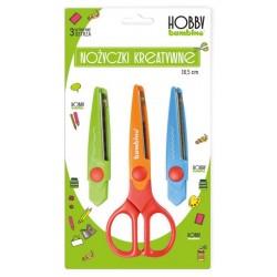 """Bambino nożyczki kreatywne z wymiennymi ostrzami """"Hobby"""""""
