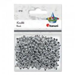 Koraliki srebrne Titanum 390726