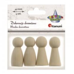 Dekoracje drewniane Titanum 390724