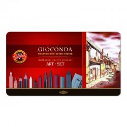 """Koh-I-Noor """"Gioconda Art-Set"""" zestaw artystyczny średni 8891"""