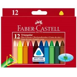 Faber Castell kredki świecowe trójkątne 120010