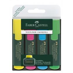 """Faber Castell """"Textliner 1548"""" zetaw zakreślaczy 4"""