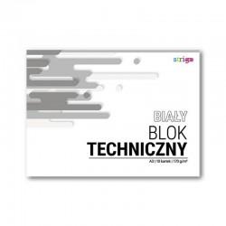 Blok techniczny biały A-3/10k Strigo SPA-022