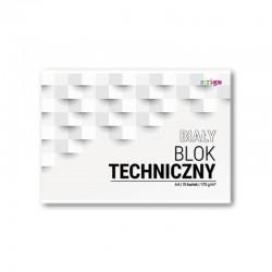 Blok techniczny biały A-4/10k Strigo SPA-017