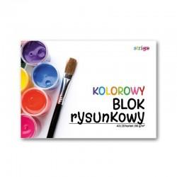 Blok rysunkowy kolorowy A-3/20k Strigo SPA-016