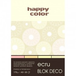 "Happy Color blok kreatywny ""Ecru"" A-4"