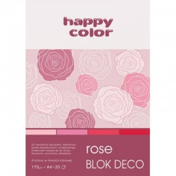 "Happy Color blok kreatywny ""Rose"" A-4"