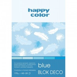 "Happy Color blok kreatywny ""Blue"" A-4"