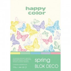 "Happy Color blok kreatywny ""Spring"" A-4"