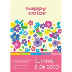 "Happy Color blok kreatywny ""Summer"" A-4"