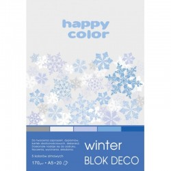 "Happy Color blok kreatywny ""Winter"" A-5"