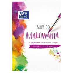 Oxford blok do malowania A-4/20k