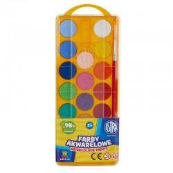 Farby akwarelowe Astra 18x23,5mm