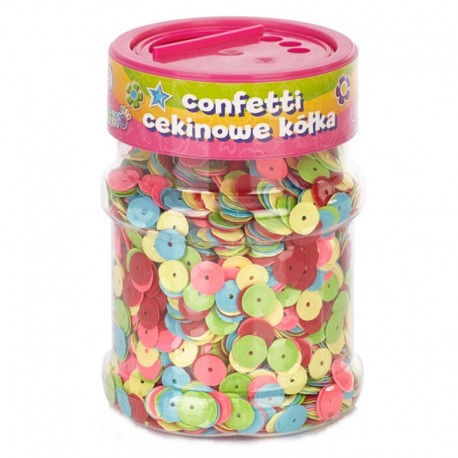 "Confetti cekinowe ""Kolorowe kółka"" Astra Creativo 100 g"