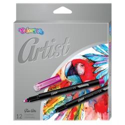 "Colorino ""Artist"" cienkopisy 12"