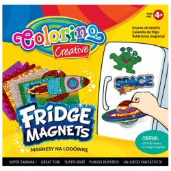 "Colorino magnesy na lodówkę ""Space"""