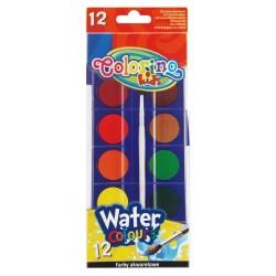 Colorino farby akwarelowe 12 PTR-14014
