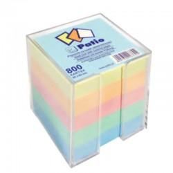 Patio notes kostka kolorowy w pojemniku PTR-10634
