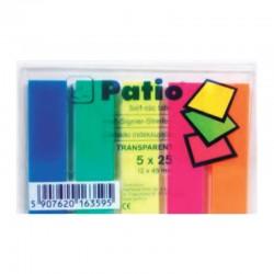 """Patio """"Transparent"""" zakładki indeksujące"""