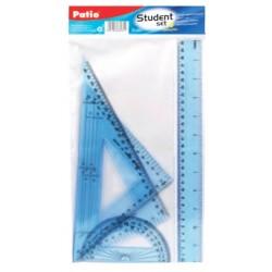 Patio zestaw geometryczny 30 cm