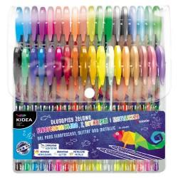 Kidea długopisy żelowe 36