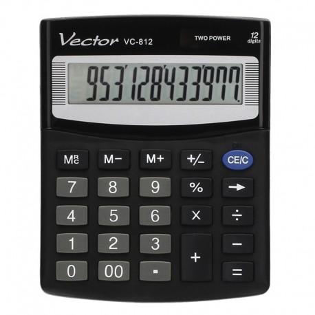 Kalkulator biurowy Vector VC-812