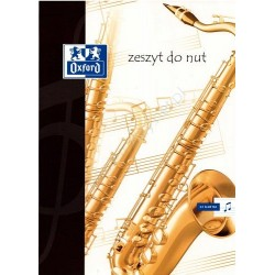 Oxford zeszyt do nut A-4/32k