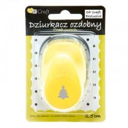 """Dziurkacz ozdobny """"Choinka"""" 2,5 cm DP Craft JCDZ-110-464"""