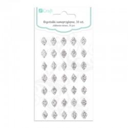 """Kryształki samoprzylepne """"Diamenty"""" DP Craft GRKR-063"""