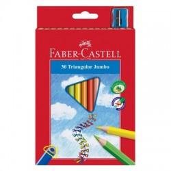 "Faber Castell ""Triangular Jumbo"" kredki 30"