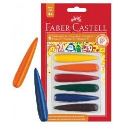 Faber Castell kredki świecowe dopasowane do dłoni 120404