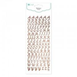 "Naklejki papierowe ""Alfabet"" DP Craft DPNK-061"