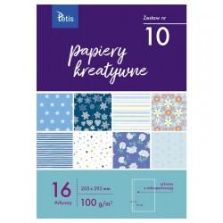 Papiery kreatywne Tetis KB-030-10