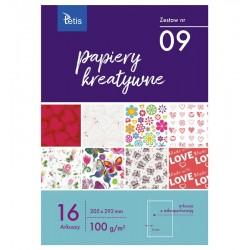 Papiery kreatywne Tetis KB-030-09