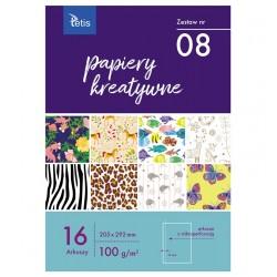 Papiery kreatywne Tetis KB-030-08