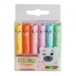 "Zakreślacze pastelowe ""Feelingi"" Happy Color"