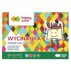Papier kolorowy A-5/10k Happy Color