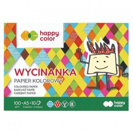 Papier kolorowy A-5/10k Happy Color