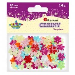 "Cekiny ""Kwiaty pastelowe"" Titanum 242729"