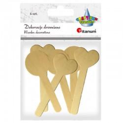 Dekoracje drewniane Titanum 390718